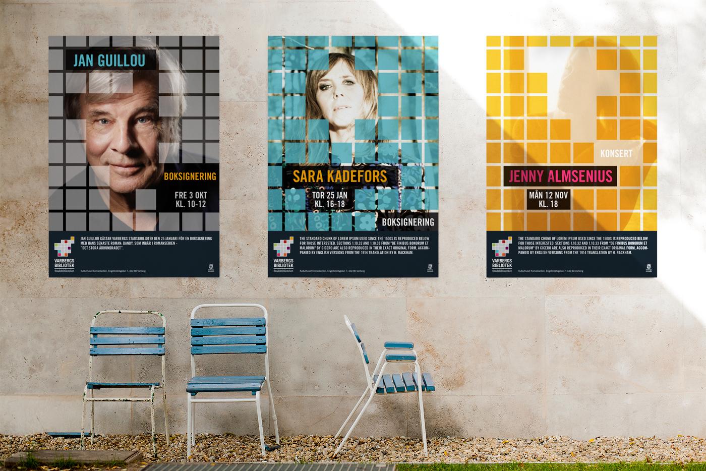 Varbergs Bibliotek Posters