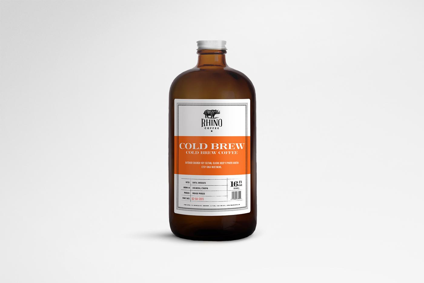 Rhino Coffee Cold brew Coffee