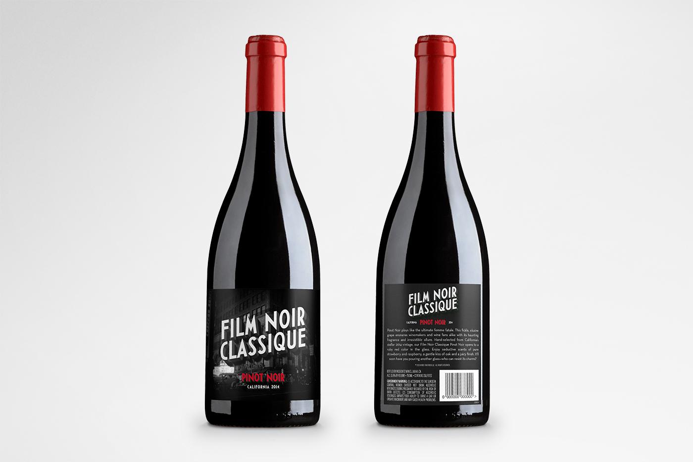 Wines That Rock – Film Noir Classique