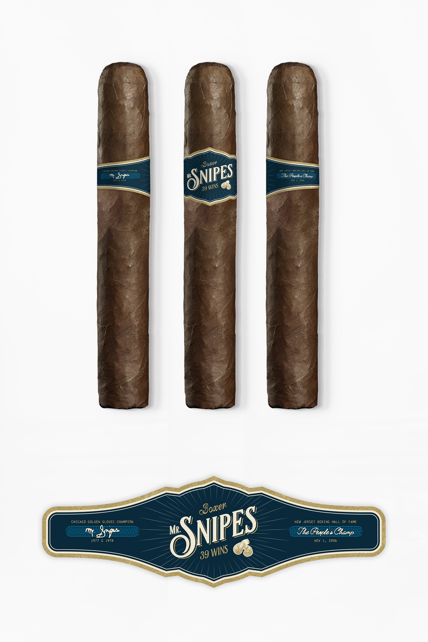 Mr. Snipes Cigars - Cigarband