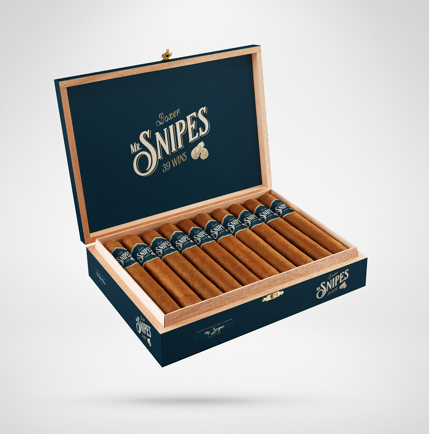 Mr. Snipes Cigars - Open Box