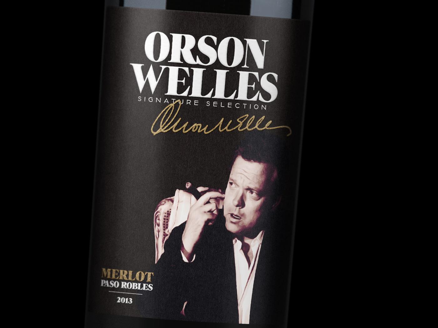 Orson Welles Signature Selection Merlot 2013 Closeup 3