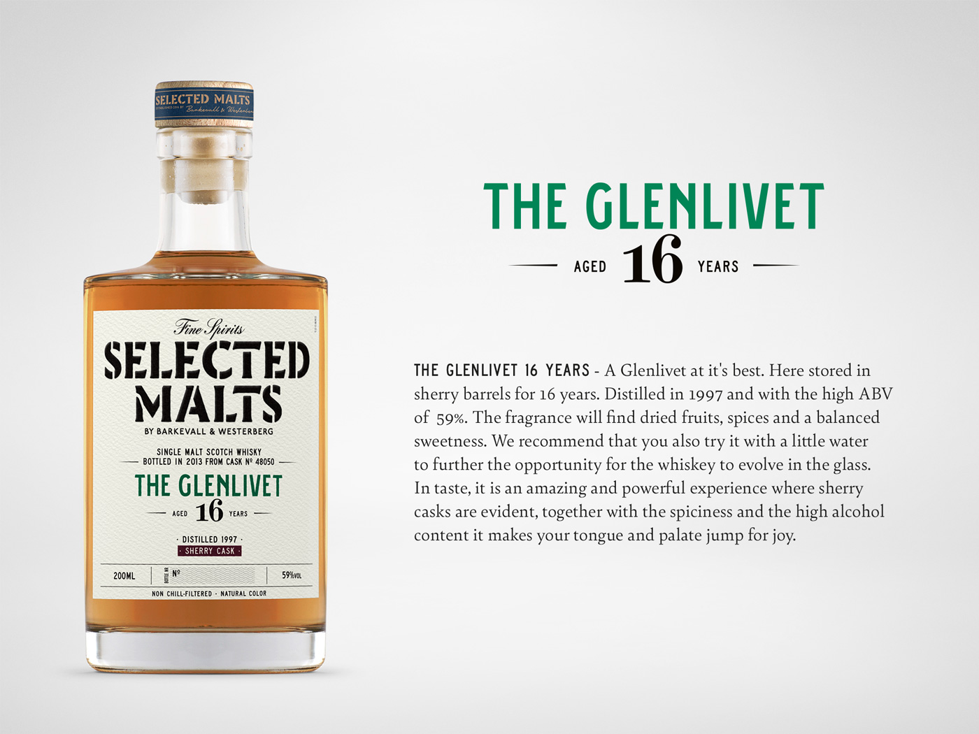 Selected Malts - The Glenlivet 16