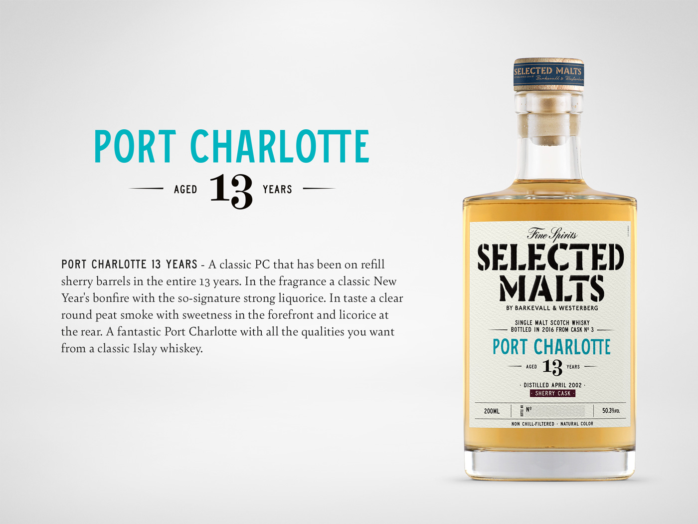 Selected Malts - Port Charlotte 13