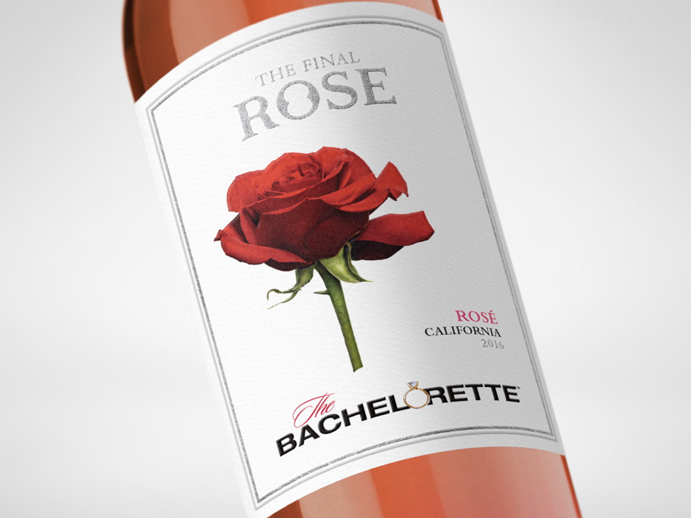 Bachelor Wines - The Final Rose Closeup