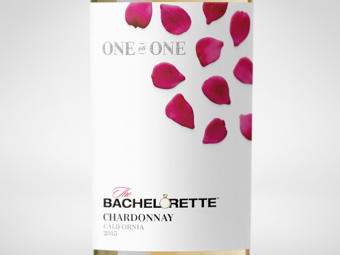 Bachelor Wines - Bachelorette One On One Label