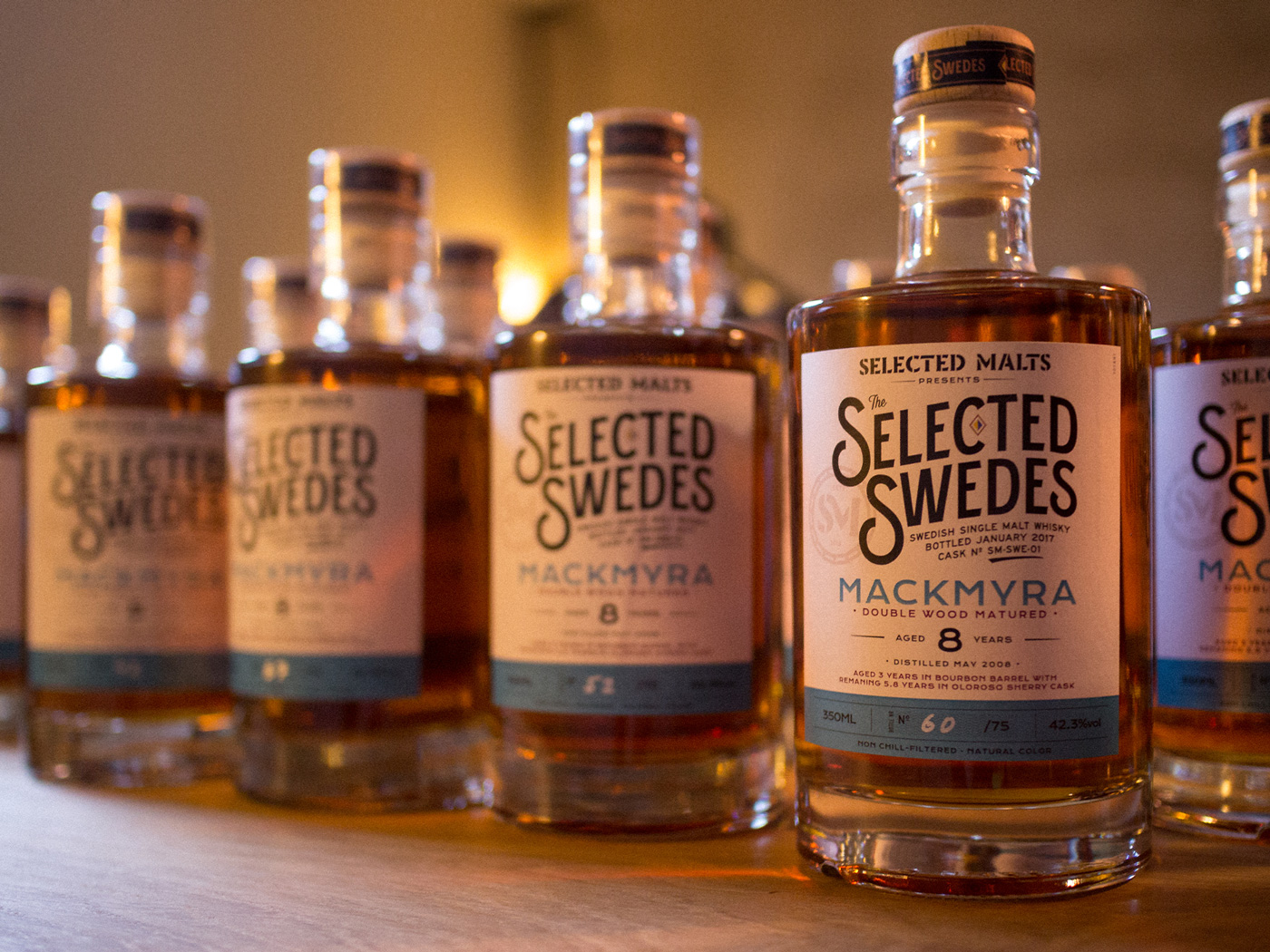 Selected Malts Selected Swedes Mackmyra Bottles Lineup