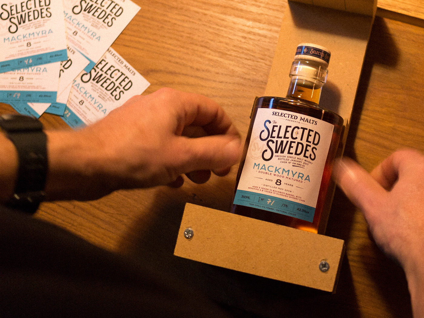 Selected Malts Selected Swedes Mackmyra Labels