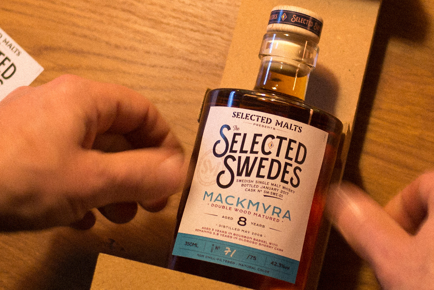 Selected Swedes: Mackmyra