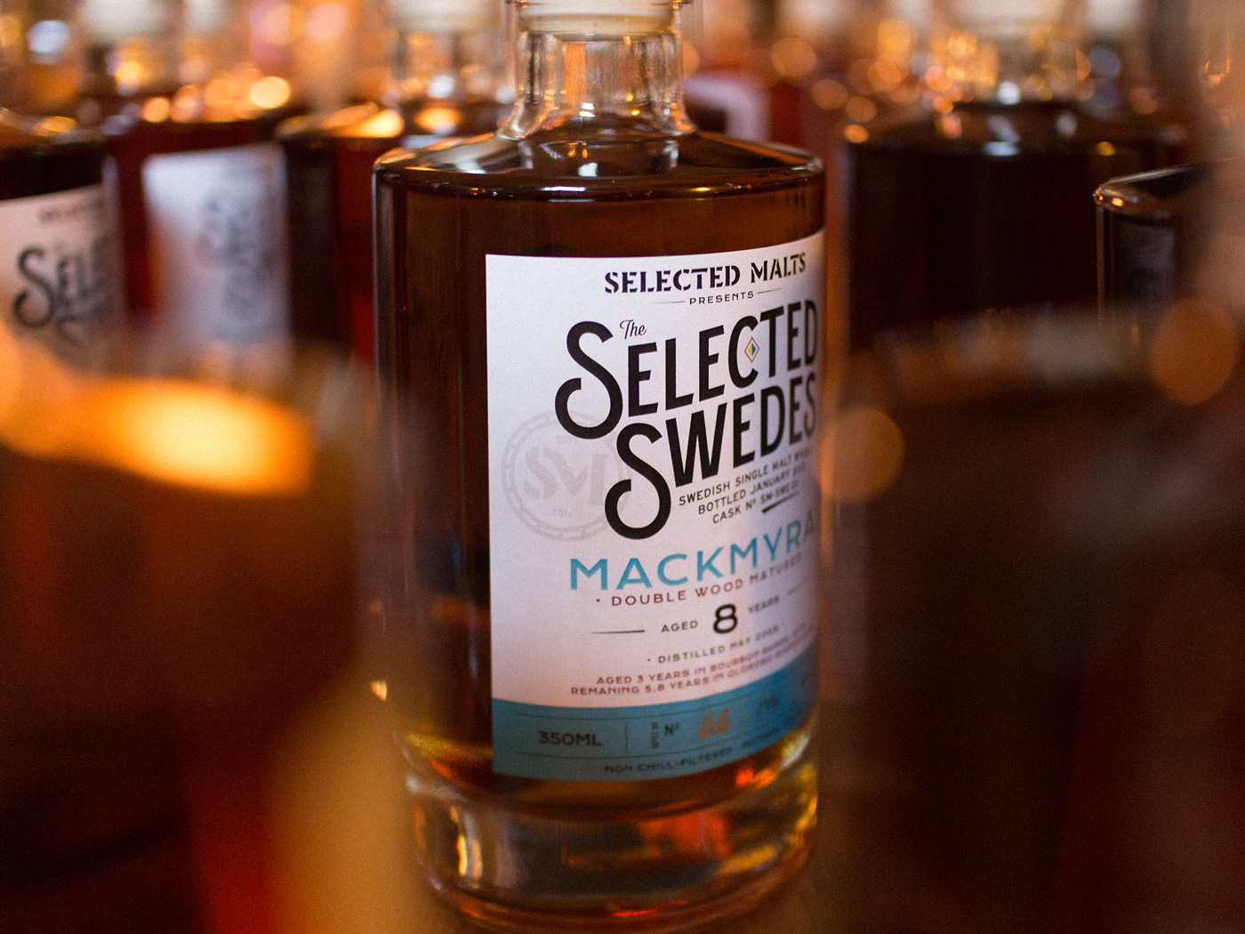 Selected Malts Selected Swedes Mackmyra Bottle