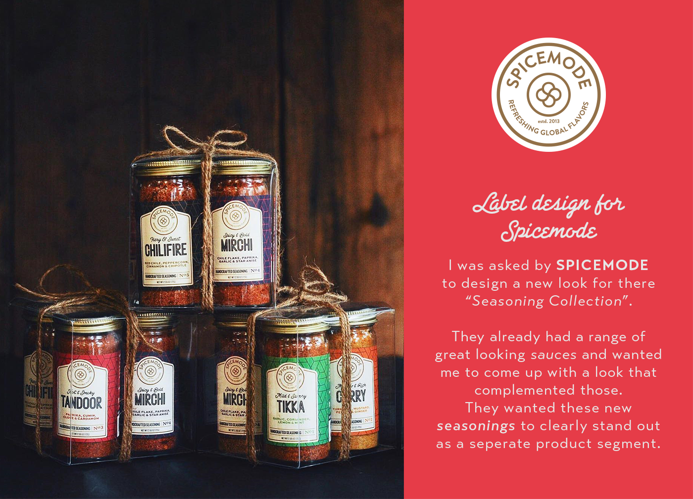 Spicemode - The Seasoning Collection - Info