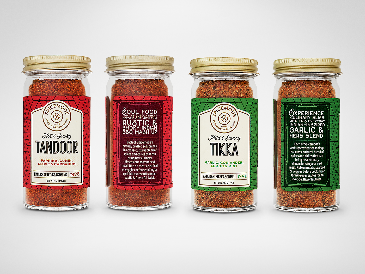 Spicemode - The Seasoning Collection - Spicejar Tandoor, Tikka