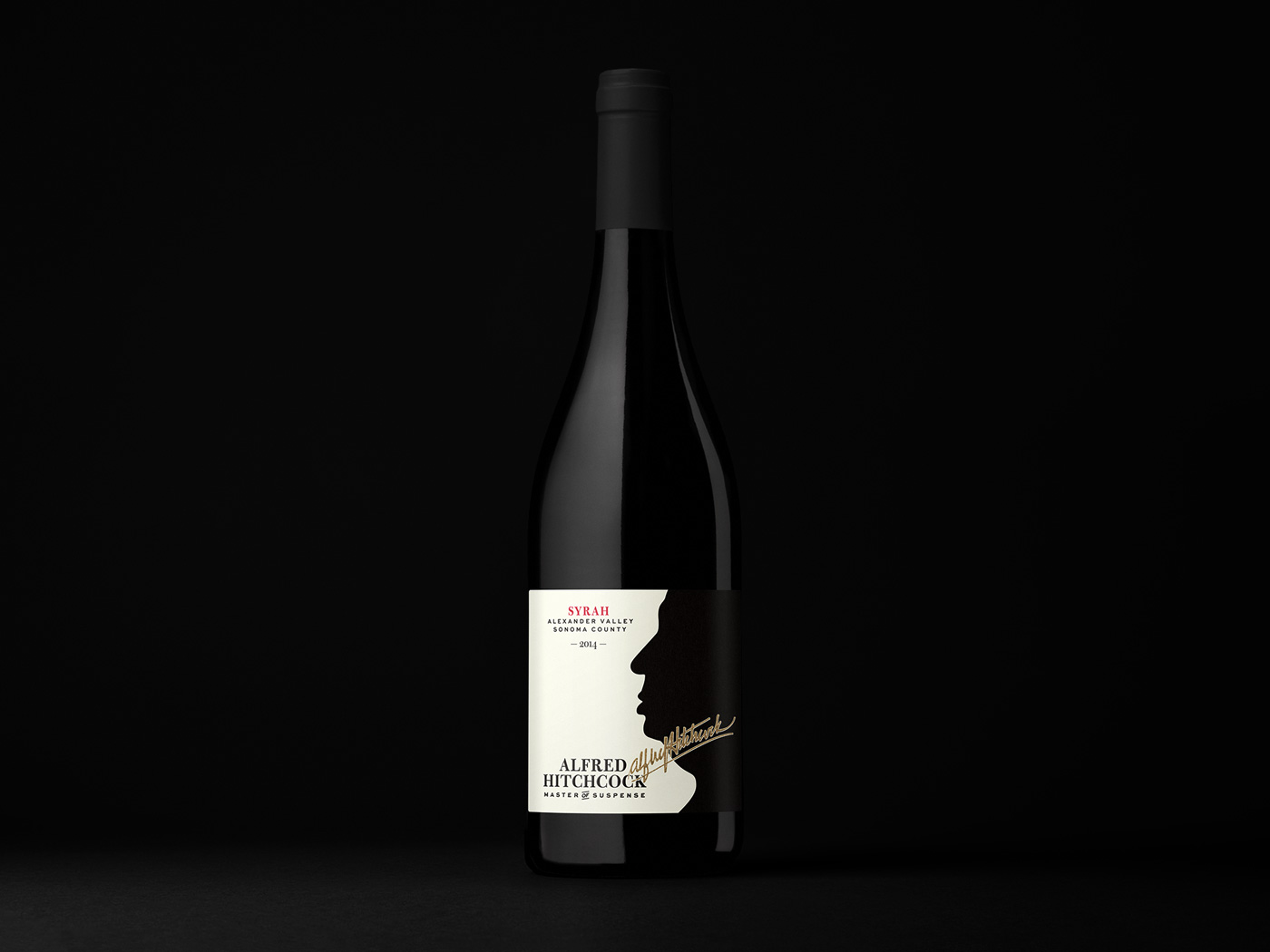 Alfred Hitchcock Master of Suspense Syrah 2014
