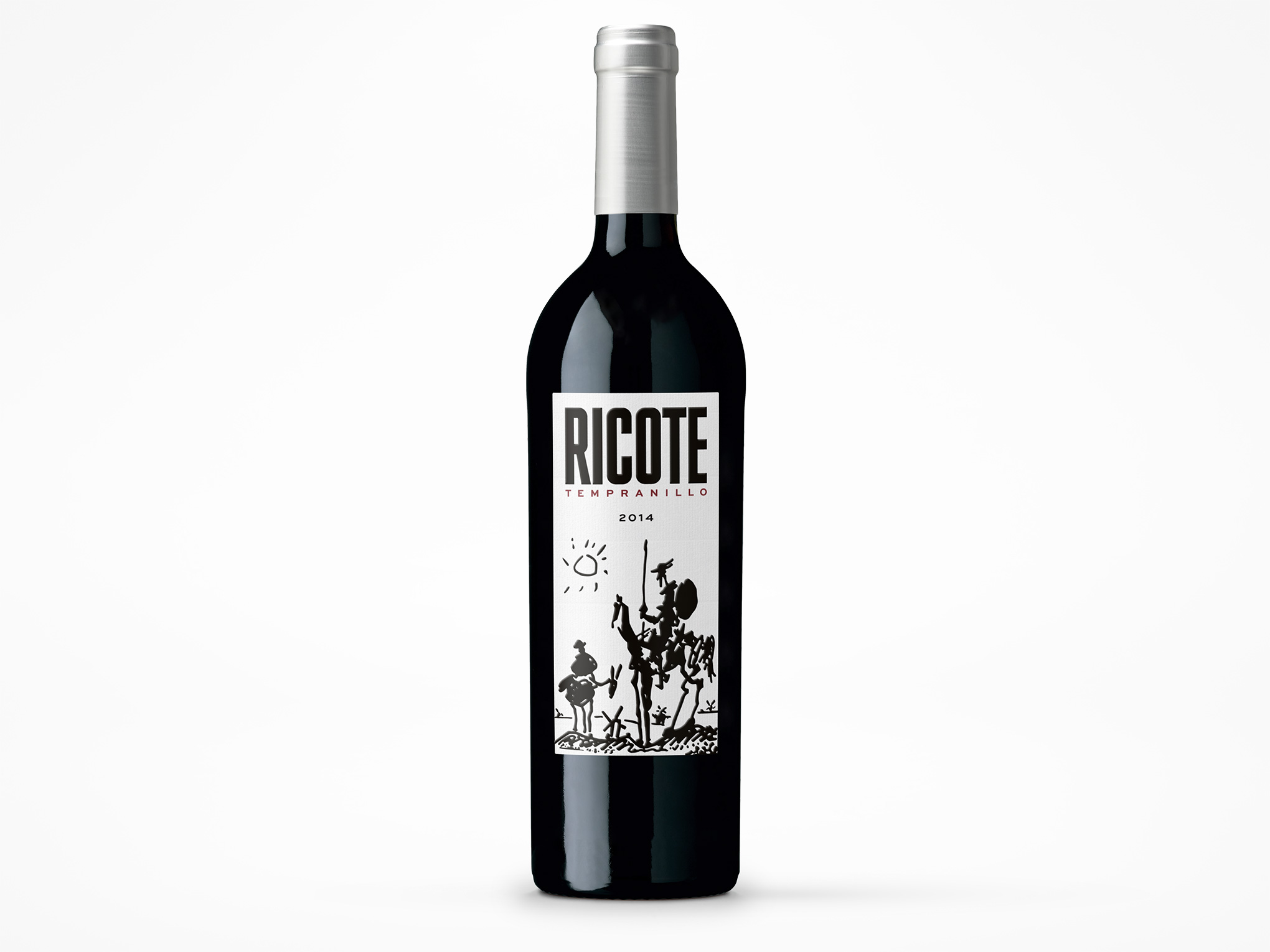 Ricote Tempranillo Wine Label Design Bottleshot Grape Collective