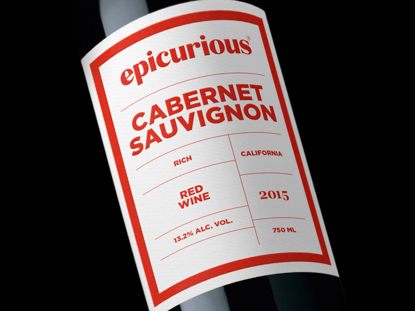 Epicurious Wine Cabernet Sauvignon Closeup
