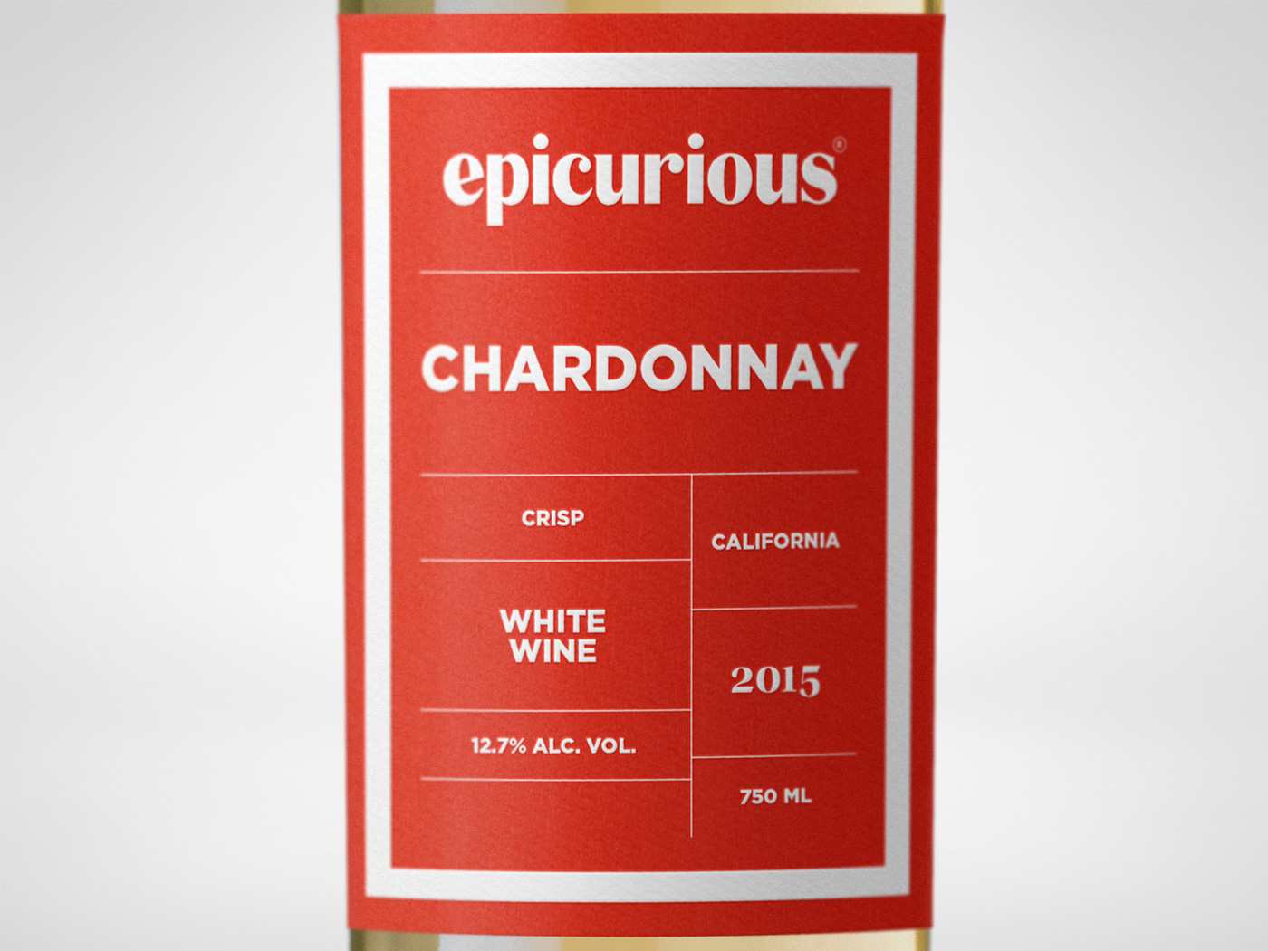 Epicurious Wine Chardonnay Closeup