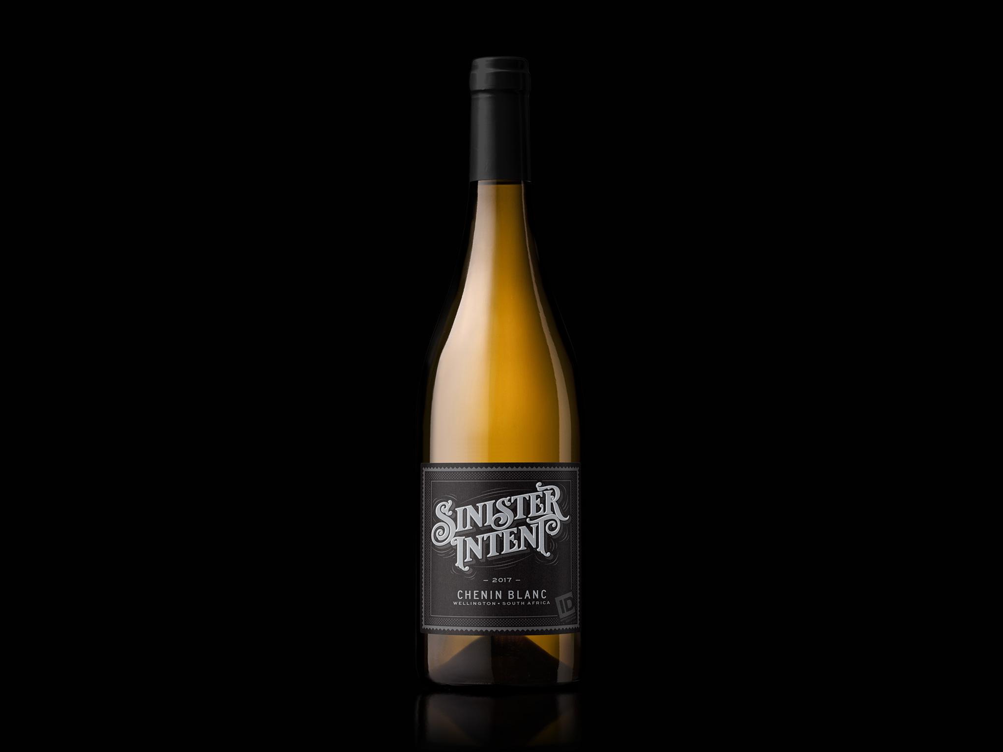 Sinister Intent Chenin Blanc Bottleshot