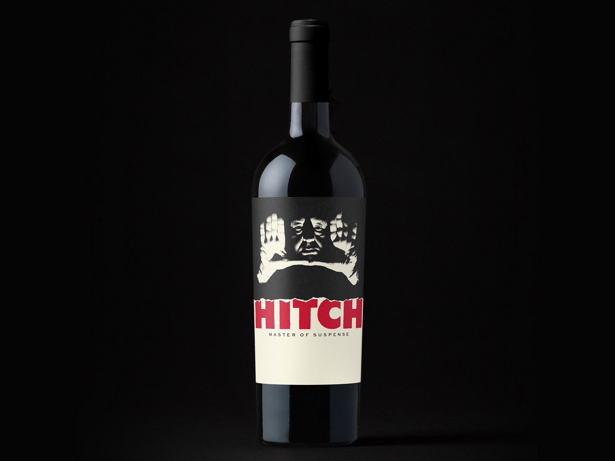Alfred Hitchcock Master of Suspense Bottle Unused