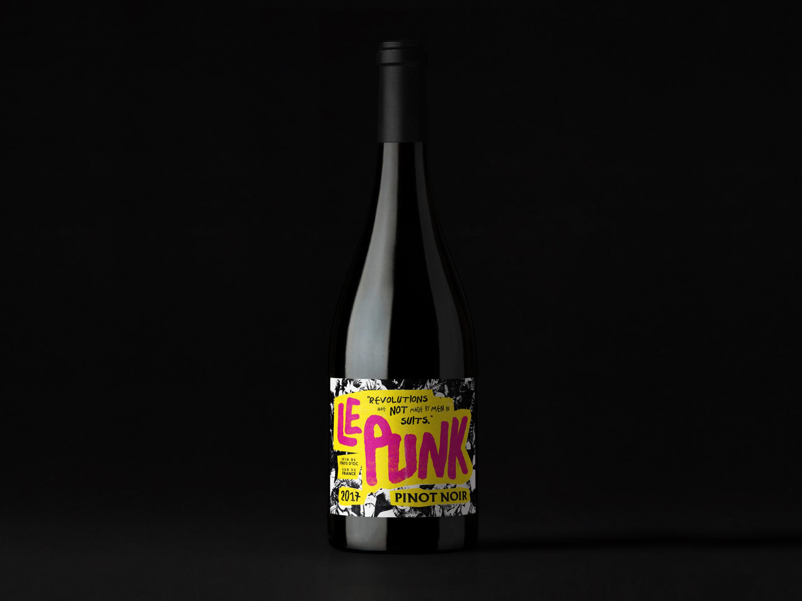 Le Punk Pinot Noir Wine