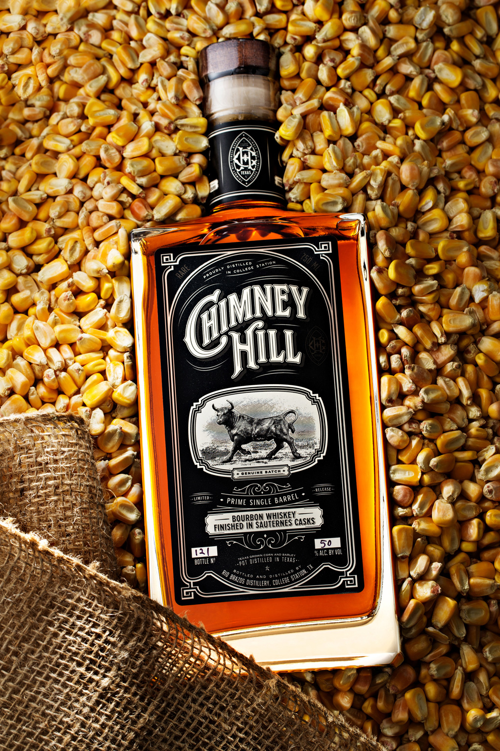 Chimney Hill Prime Single Barrel Bourbon Whiskey